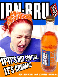 Irn Bru 4th place ad! Heart Attack?