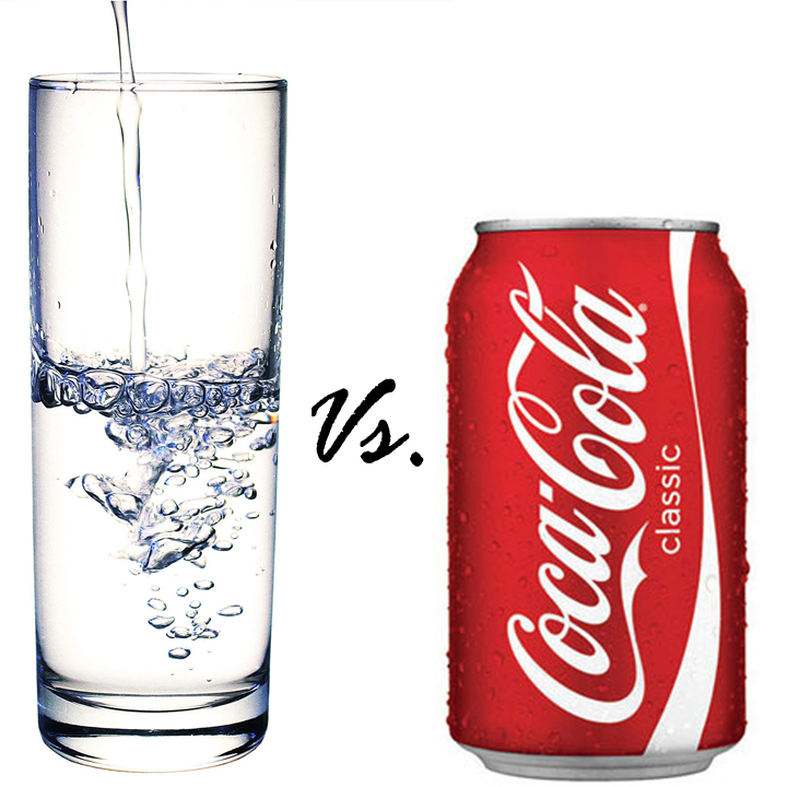 Water V Coca Cola (Coke)